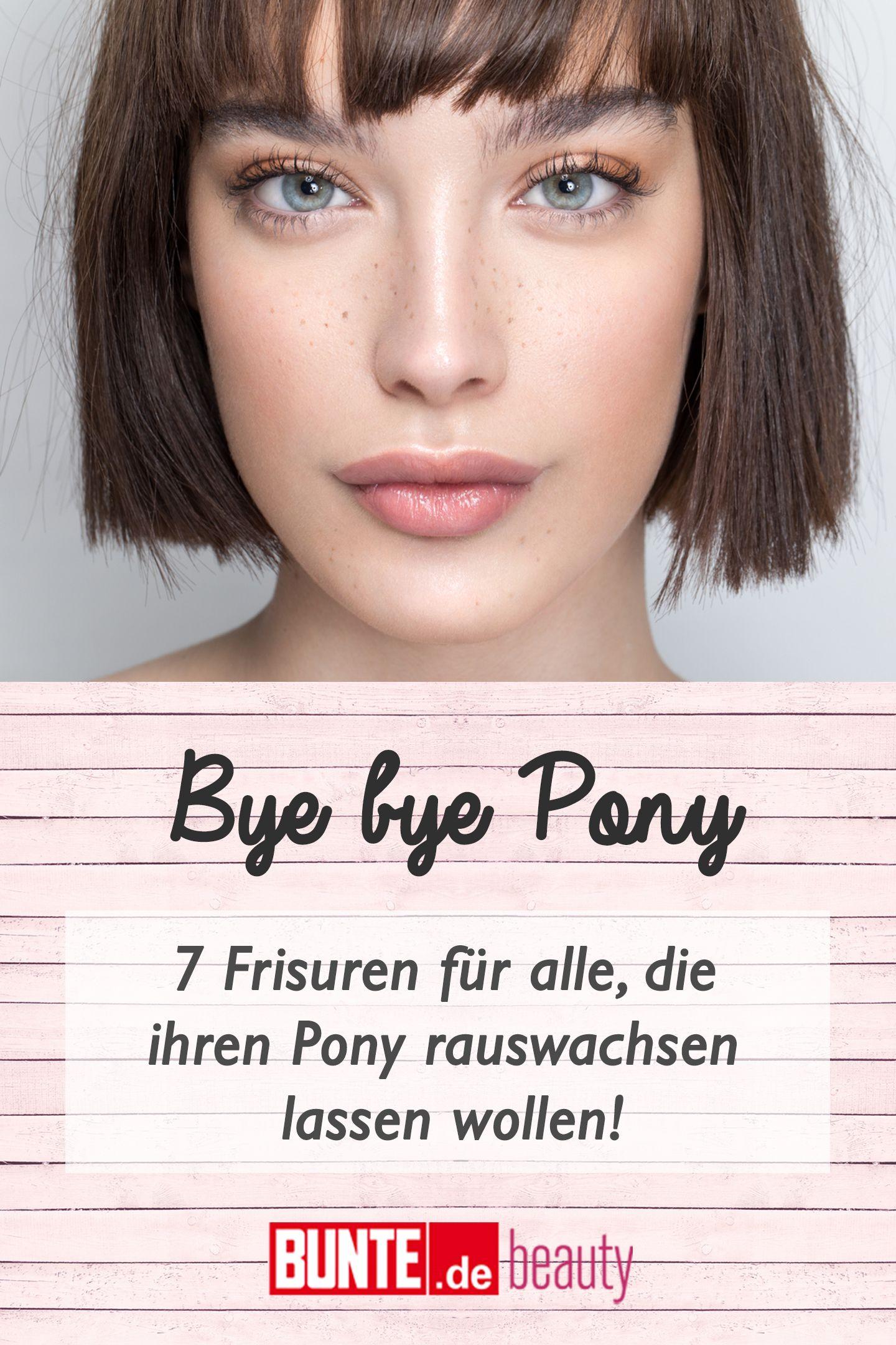 Pony Rauswachsen Lassen 7 Ubergangsfrisuren Fur Den Abschied Vom Pony Ubergangsfrisuren Pony Aus Dem Gesicht Frisuren Rausgewachsener Pony