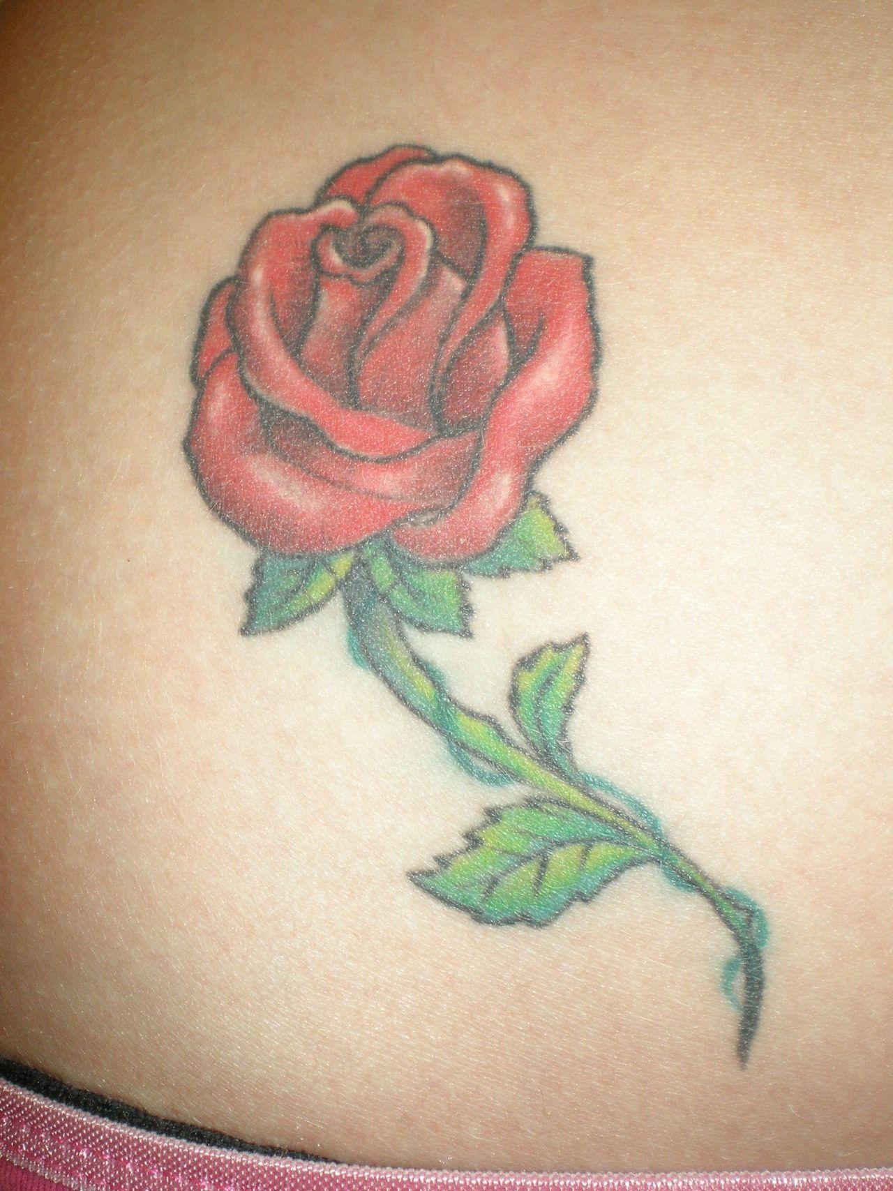 love this simple rose tattoo tattoo ideas pinterest