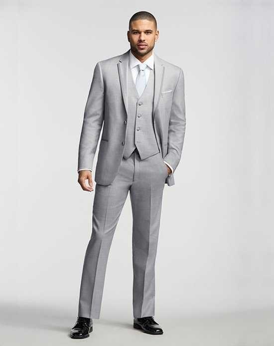 Mens Wearhouse Joseph AbboudR Gray Tuxedo Wedding Tuxedos Suit Photo