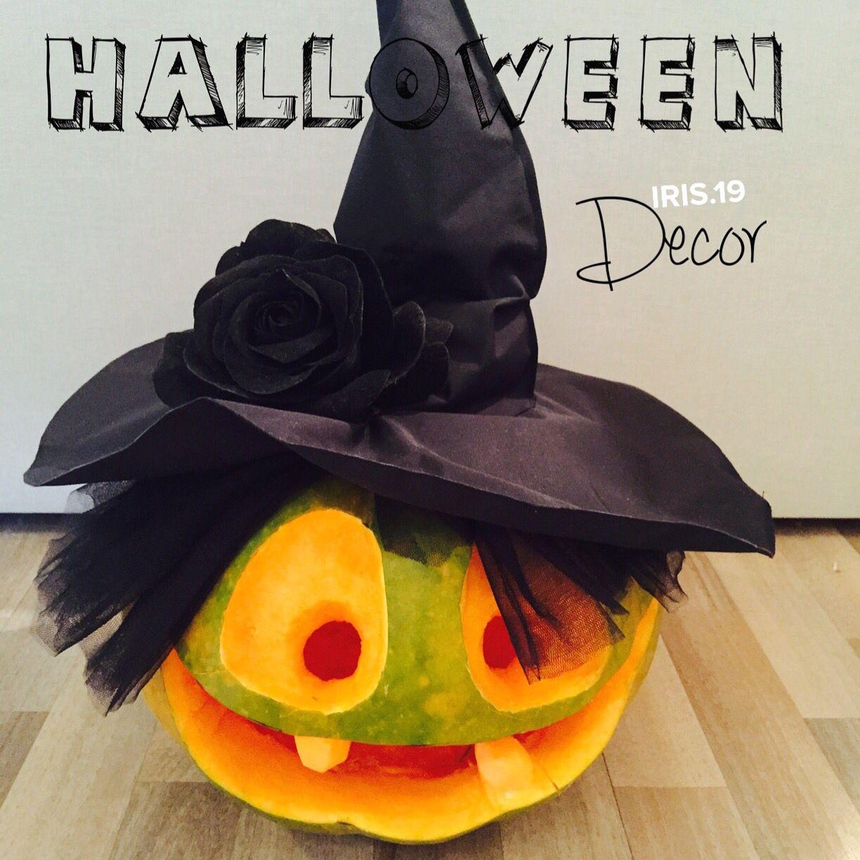 Страшно красивая тыковка на Хэллоуин #pumpkin #halloween