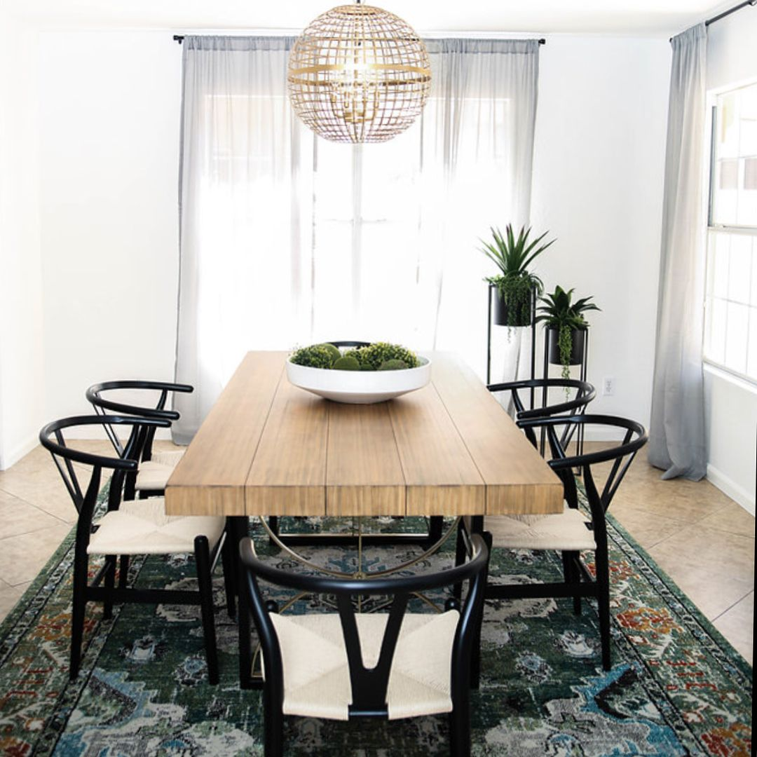 Kimberlykayinteriors Dining Room Featuring The Magnolia Home