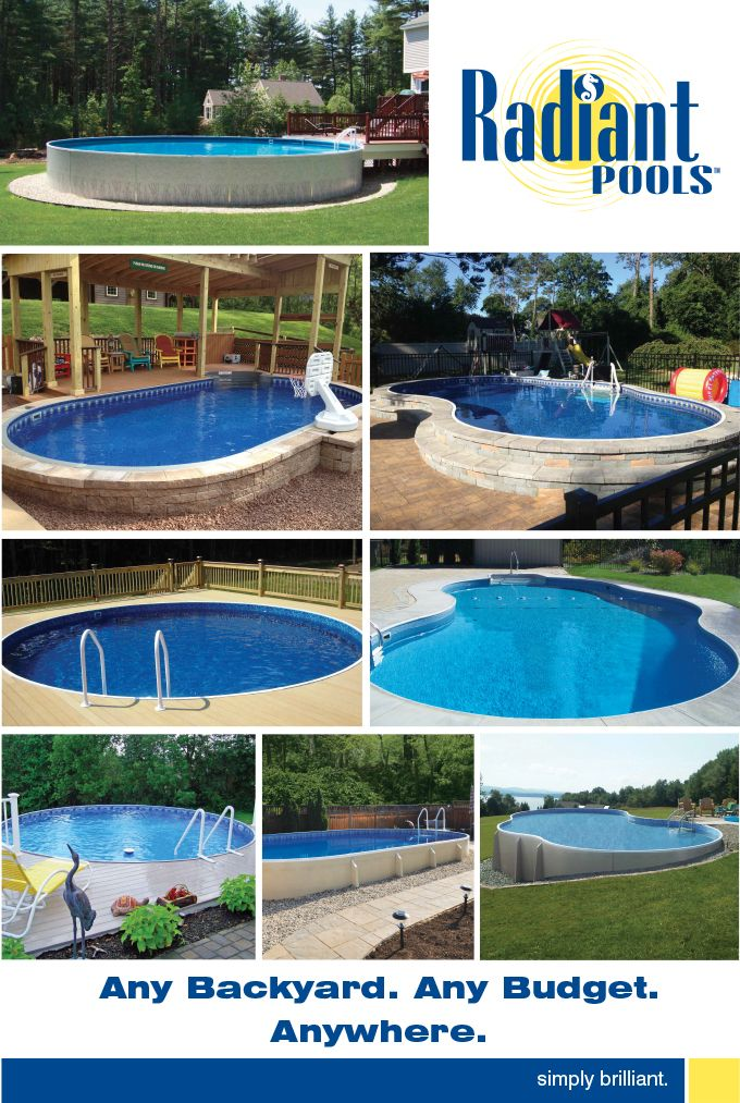 Radiant Pools Images | Small Pools in 2019 | Pool prices, Small ...