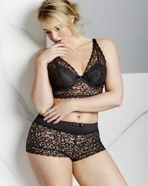 14603174bc0ffa Pretty Secrets Lottie Lace Midi Bralette