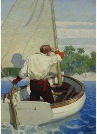 nc wyeth king Arthur illustrations | NC Wyeth, PEARL ...