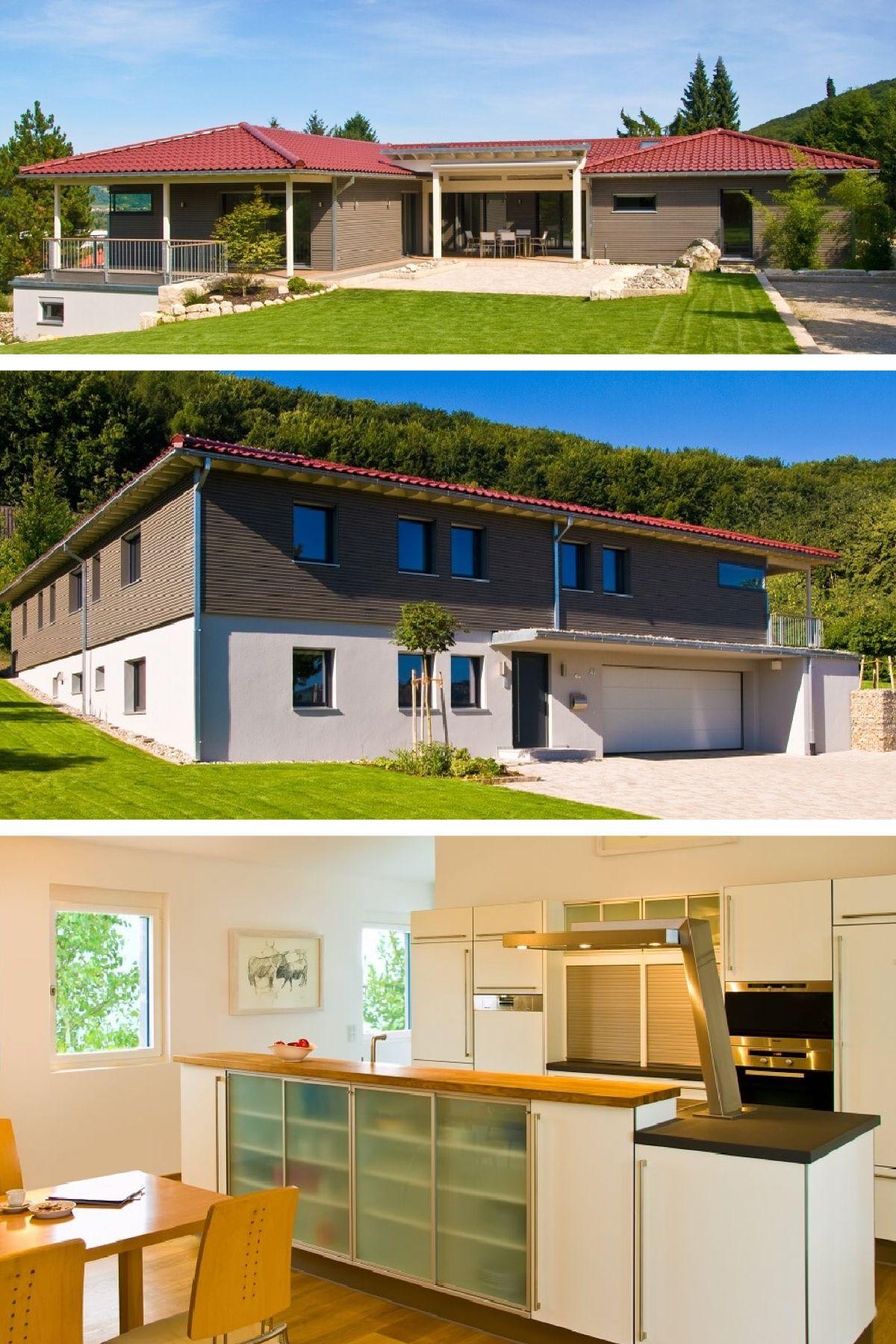 Einfamilienhaus mit Garage in Hanglage - Klassischer Bungalow von ...