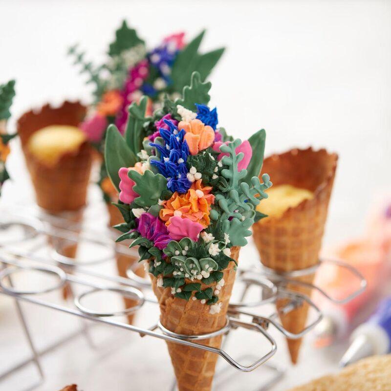 Cupcake cones baking rack 12cavity ice cream cone