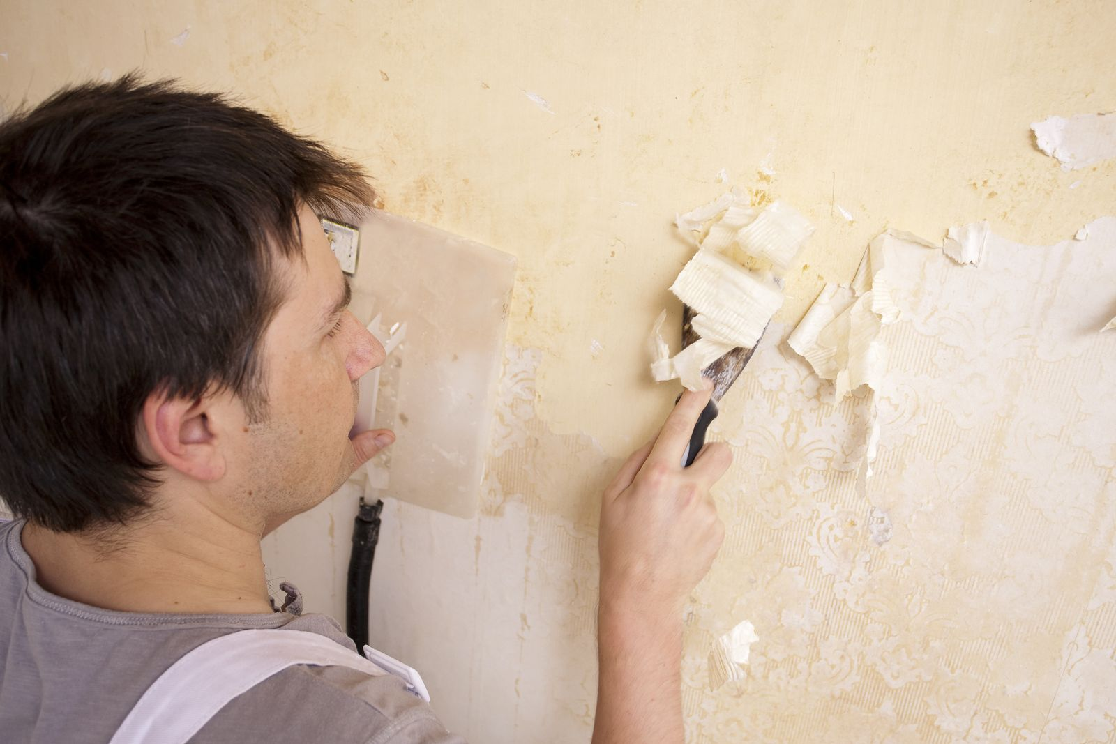 The Only Way You Need to Know to Remove Wallpaper | Remove ...