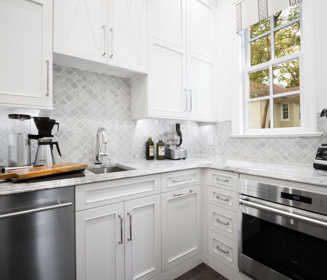Znalezione Obrazy Dla Zapytania Białą Kuchnia I Marmur