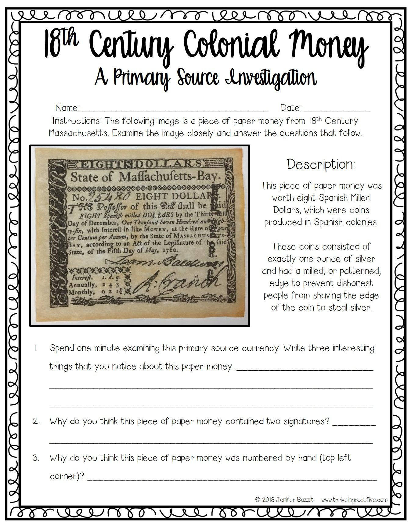 Teaching Colonial Primary Sources