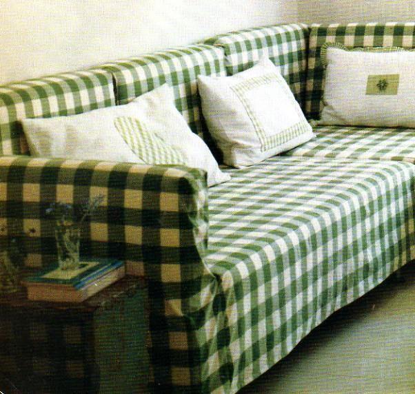 Gingham Corner Sofa Love To Do This