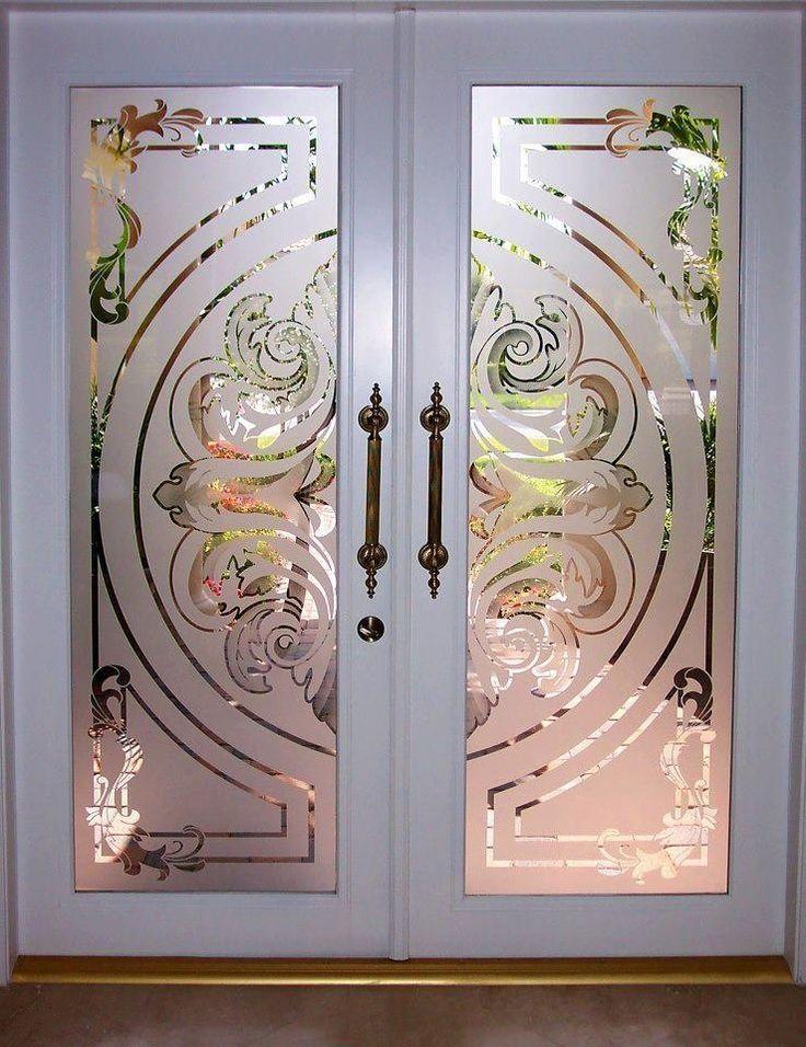 Beautiful Doors Grand Mansions Castles Dream Homes Luxury Homes Door Glass Design Etched Glass Door Glass Etching Designs