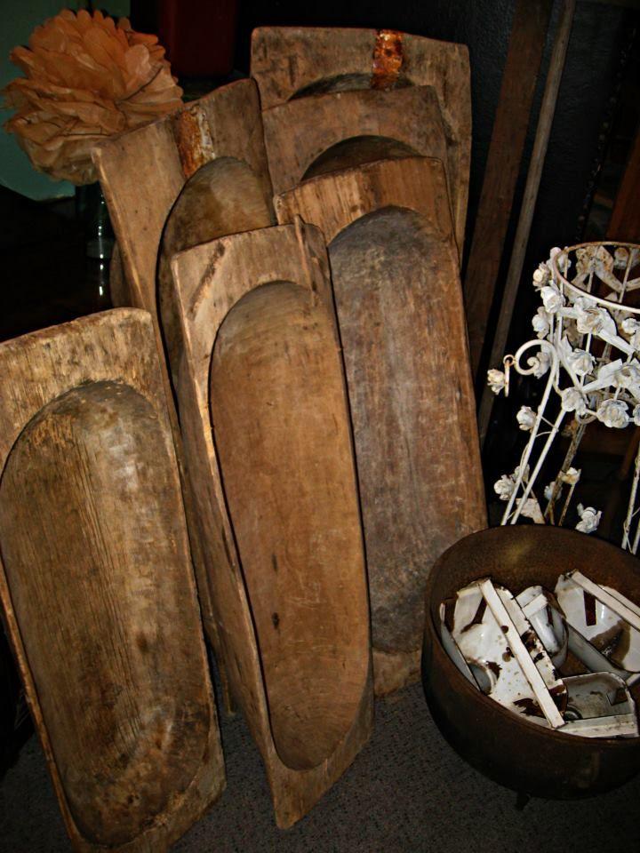 Antique Dough Bowls With Images