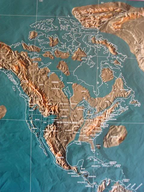 Heel Heat Future Earth Alternate Futures Pinterest - Future map of north america