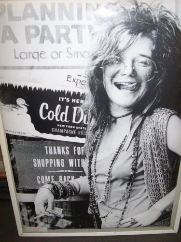 JANIS JOPLIN-PLANIFICATION-A-PARTY-AFFICHE NOUVEAU-