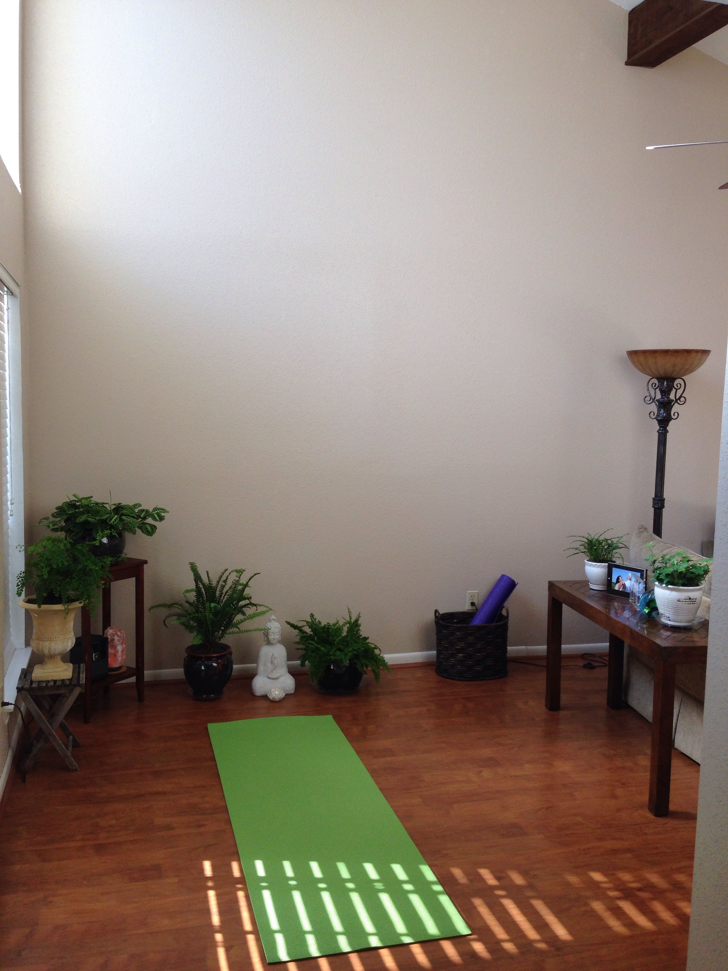 My Home Yoga Space
