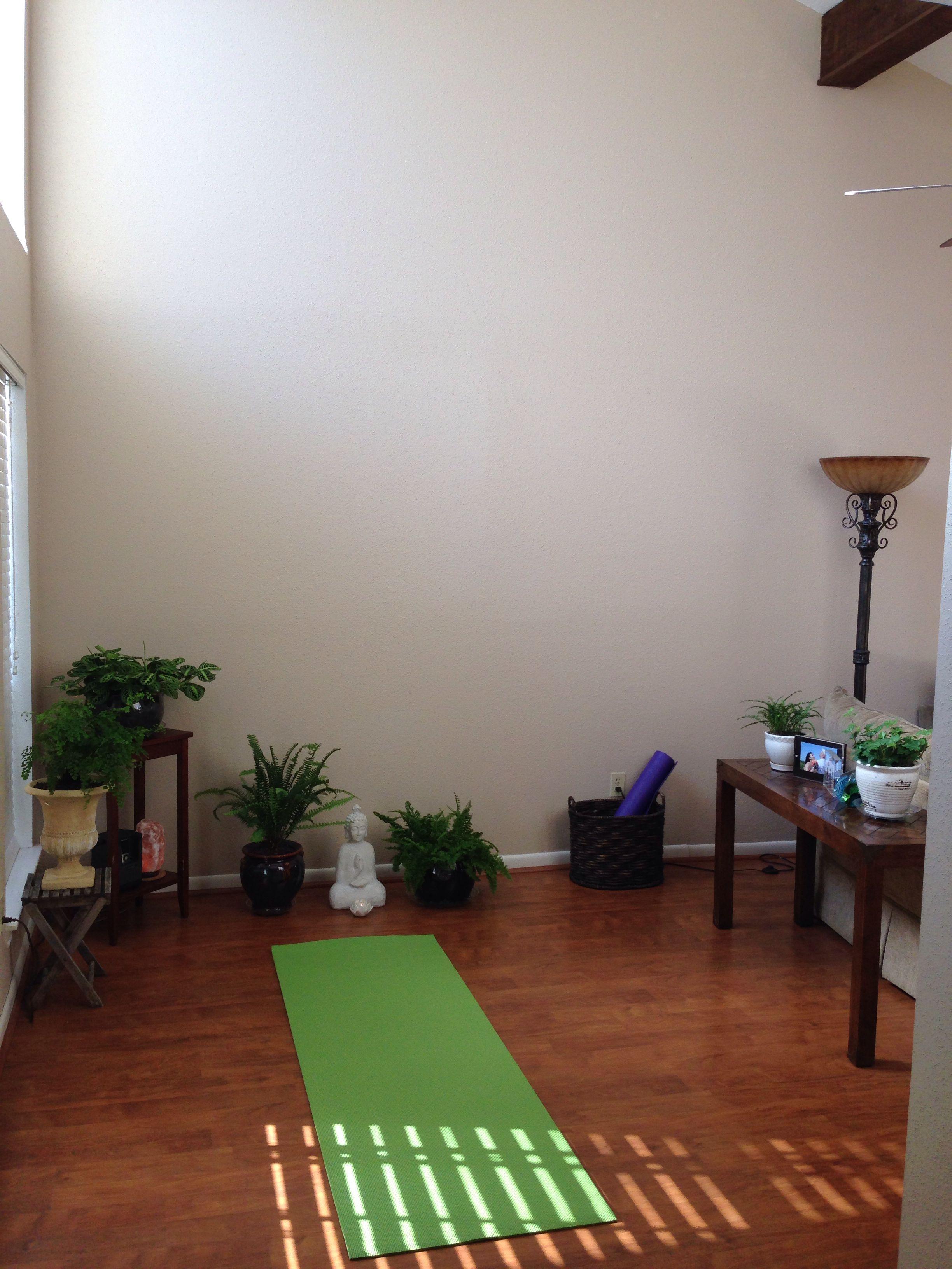 My Home Yoga Space