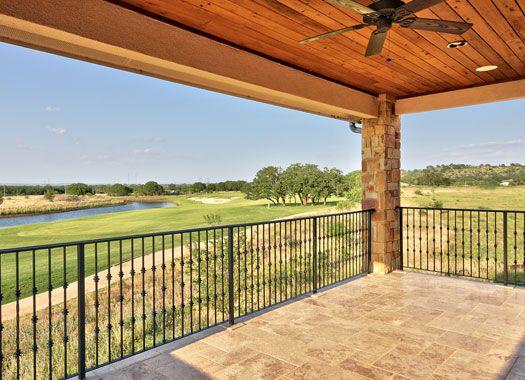 texas house plans with breezeway baltusrol_exterior_2ndfloor_patio - Texas House Plans With Breezeway