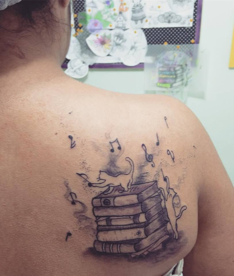 53 Badaas Book Tattoos For People With Literary Taste