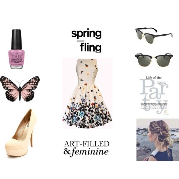 """""""Butterfly"""" by alinebrehier on Polyvore"""