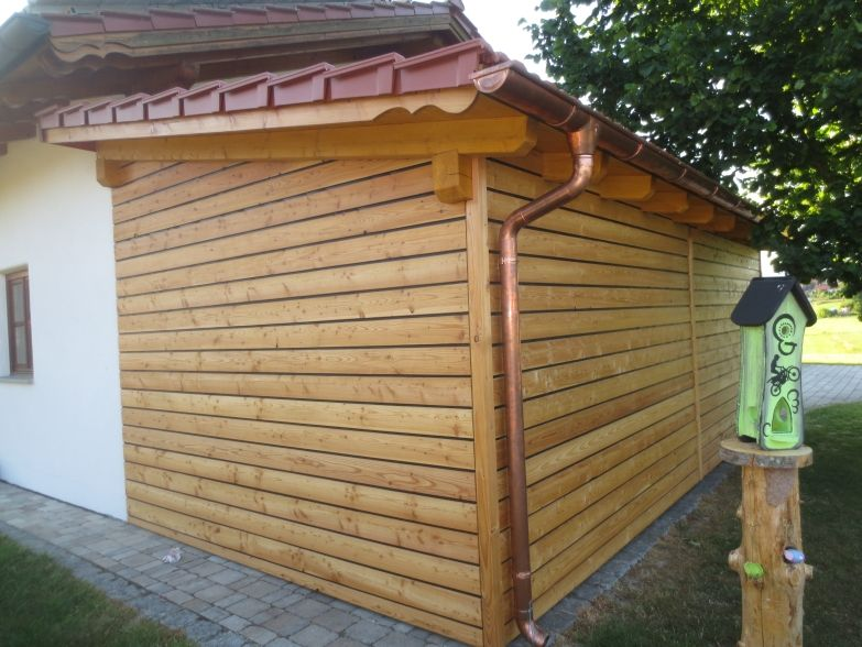 Easy Rhombus Blackline Habm Geschutztes Holzfassadenprofil Aus Larche Fassade Haus Holzfassade Haus Bauen
