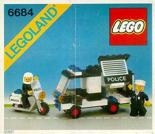 6684 Police Patrol Squad Lego Lego Police Classic Lego