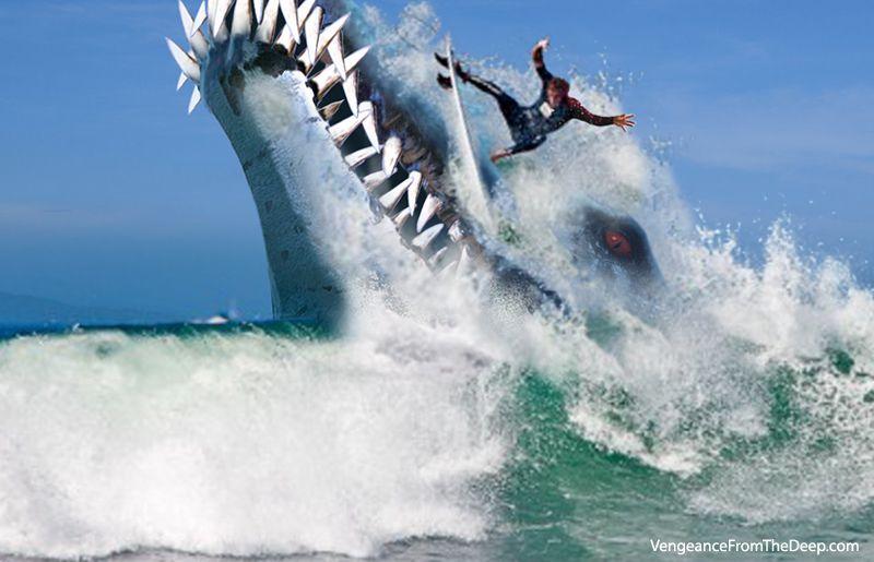 No surfing today.  #pliosaur