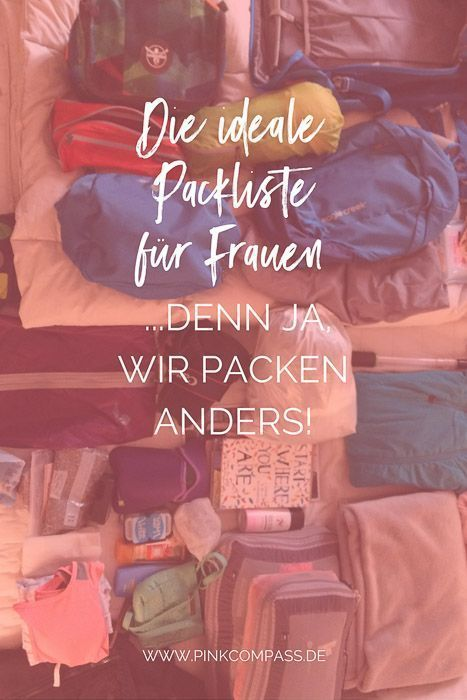 Photo of Packing tips: The ideal packing list for women! Because yes, we pack differently. Regardless of whether…