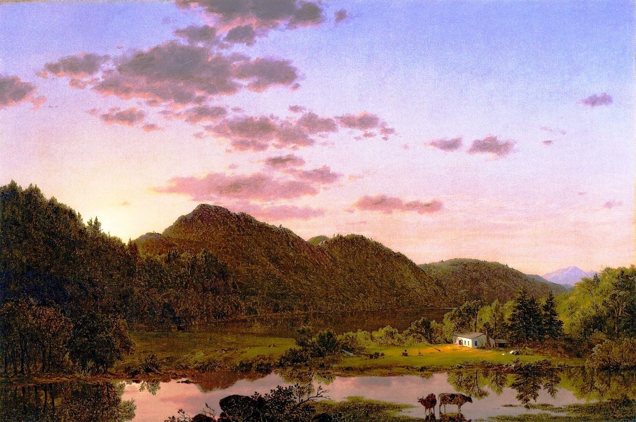 American Landscape By Frederic Edwin Church Oilpaintings Com