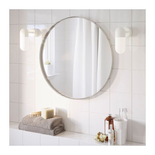 "24"" $40 GRUNDTAL Mirror IKEA The Mirror Comes With Safety"