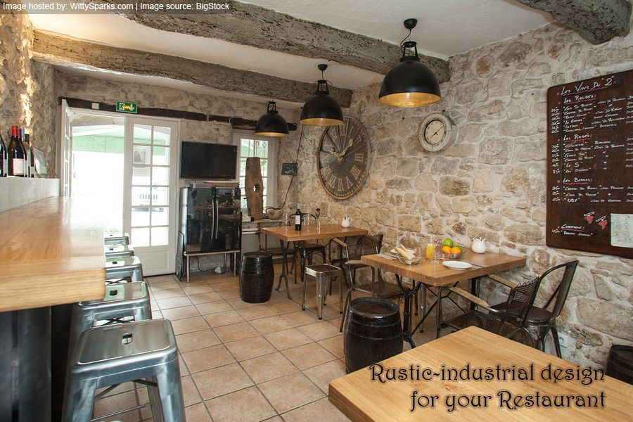 Rustic Industrial Design Is Hugely Popular In The Restaurant Business Right  Now. The Timeless