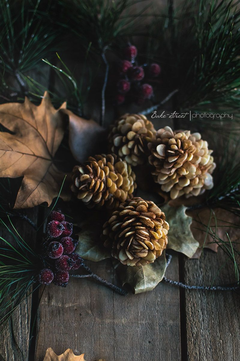 Marzipan pine cones with black chooclate and Cointreau truffle  - Piñas de mazapán y trufa de Cointreau - Bake-Street.com