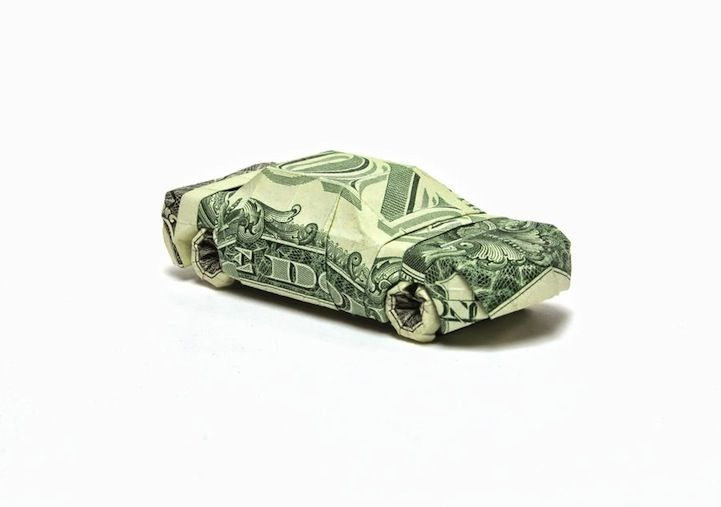 Intricate Origami Designs Made Out Of Money Pinterest Origami