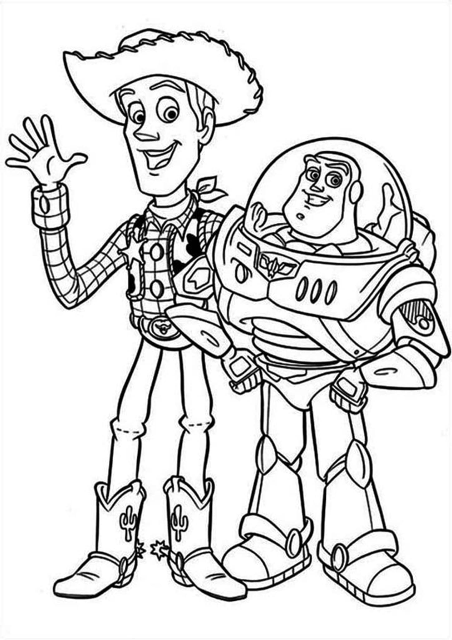 Free Easy To Print Toy Story Coloring Pages Toy Story Coloring Pages Dinosaur Coloring Pages Online Coloring Pages