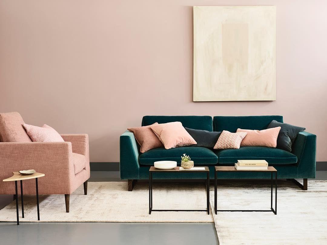 """House & Garden on Instagram: """"The modern Jasper sofa from ..."""
