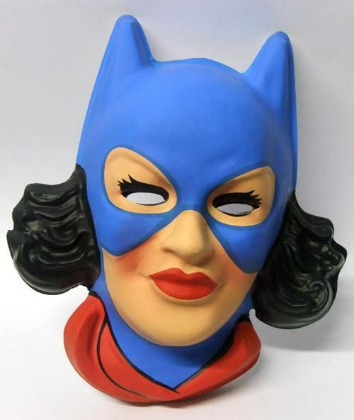 Vintage Batgirl 1979 1980 Italian Mask Vintage Halloween Costume Batman Toys Batman And Batgirl