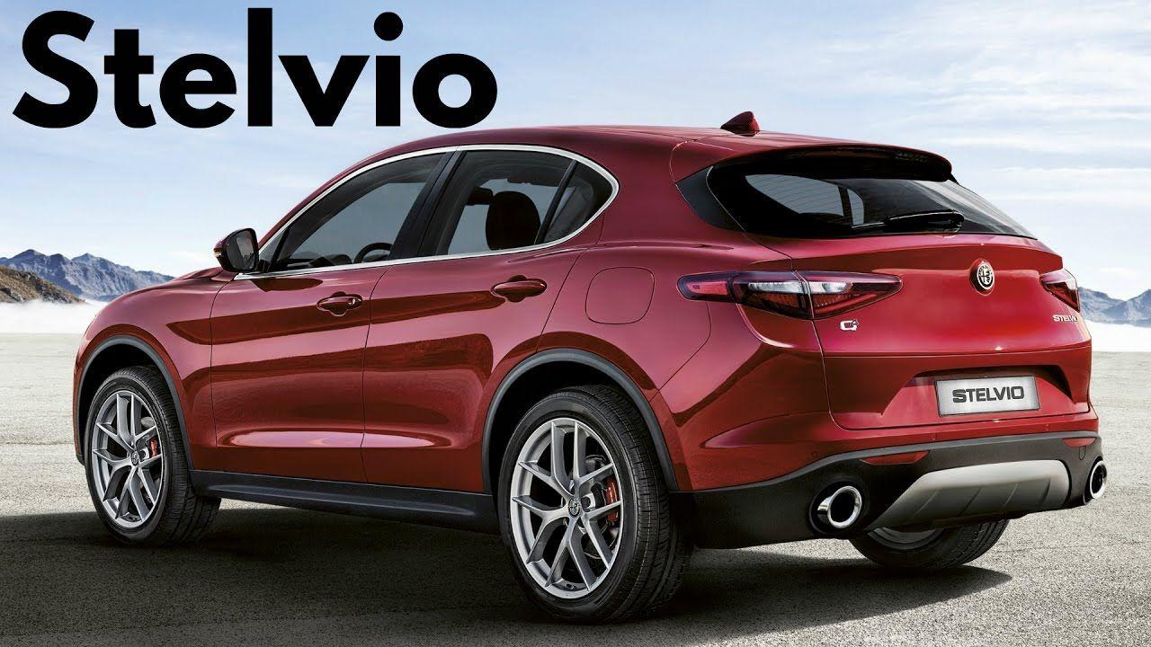 2018 Red Alfa Romeo Stelvio Q4 280 Hp 0 To 100 Km H 62 1 Mph In 5 7 Seconds