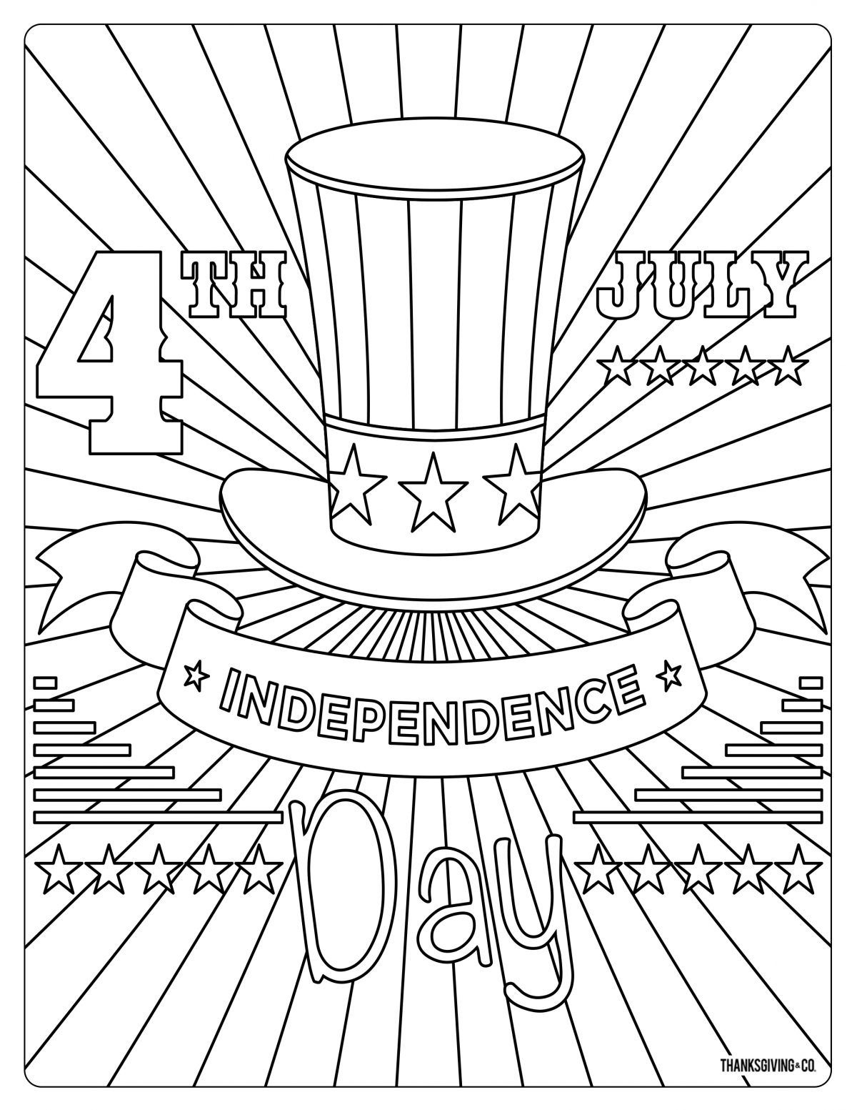 5 Free Fourth Of July Coloring Pages Coloring Pages Love Coloring Pages July Colors