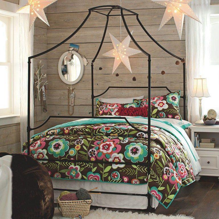 Crazy Chic Design Modern Boho Basement: Inspiring Guest Romantic Bedroom --- Ideas Decor Colors