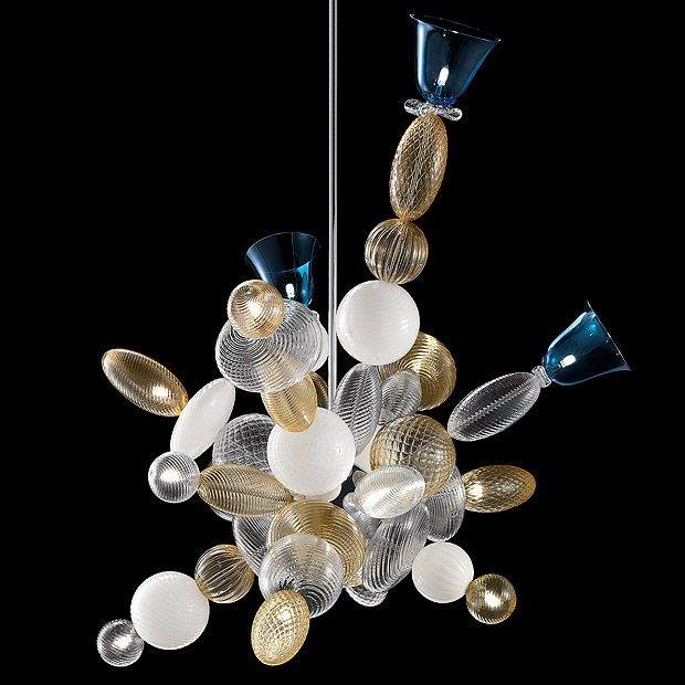 Perseus Murano Chandelier By Barovier Amp Toso A Dazzling