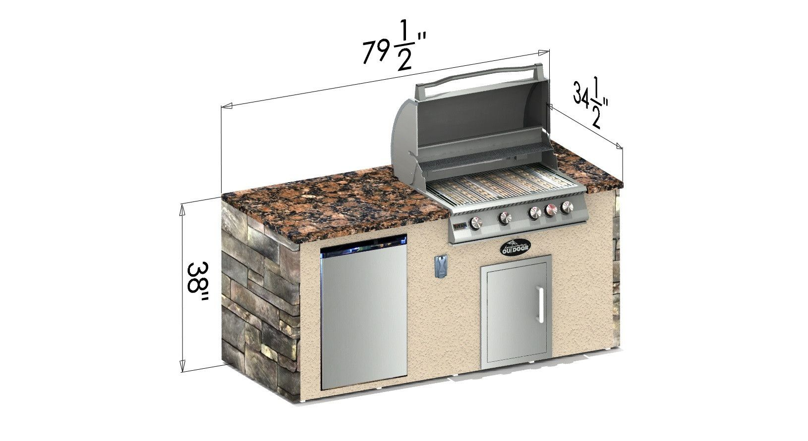 Select Series Paddock Outdoor Kitchen Island Outdoor Kitchen Island Outdoor Kitchen Outdoor Kitchen Grill