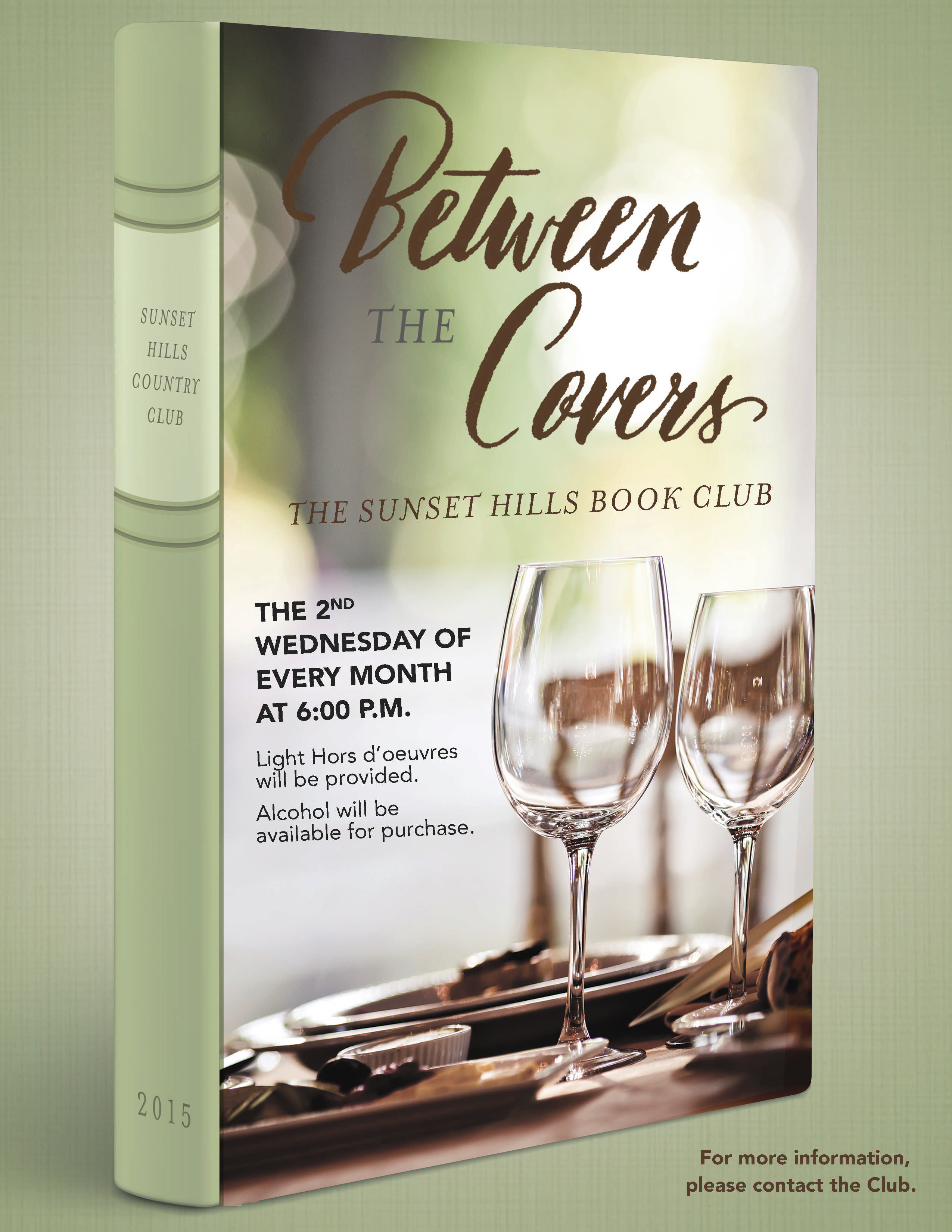 between the covers book club flyer poster template book club