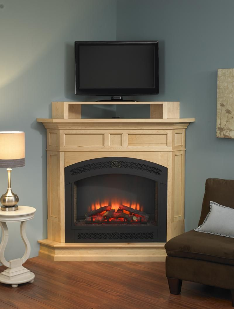 breathtaking living room fireplace electric | Interior, Delightful Corner Electric Fireplace Design ...