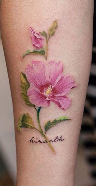 Korean National Flower Tattoo : korean, national, flower, tattoo, Ramirez, Stone, Flower, Tattoos,, Sharon