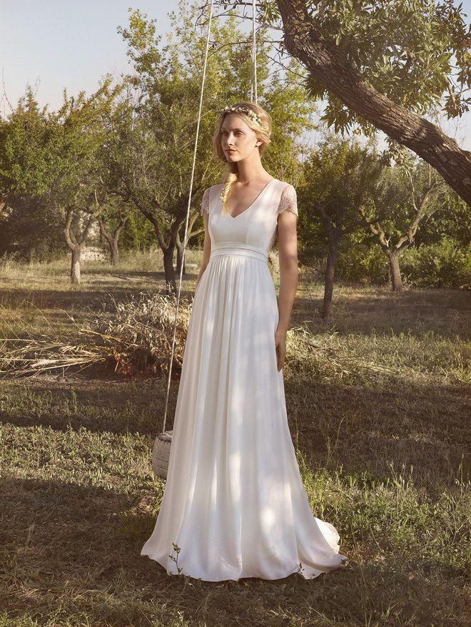 Luftig und traumhaft schön: 25 umwerfende Brautkleider für eine ...