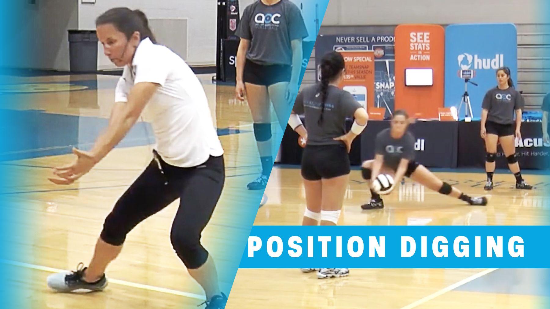 Training Your Libero Position Digging Coaching Volleyball Volleyball Drills Volleyball Training