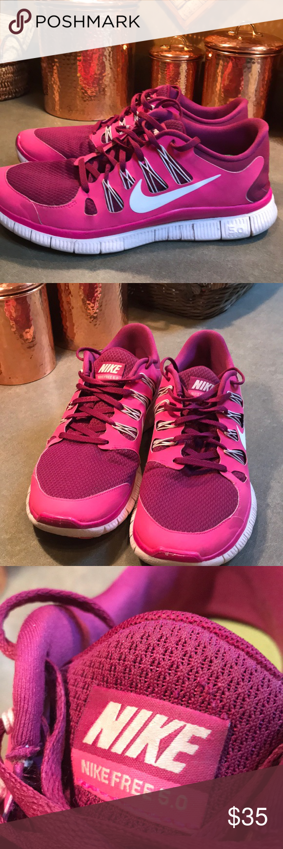 757f305f2cfa Nike Free 5.0 Women s Running Shoe. Size 11 Nike Free 5.0 Raspberry Pink  Women s Running Shoes. Size 11. Shoes are in excellent used condition!