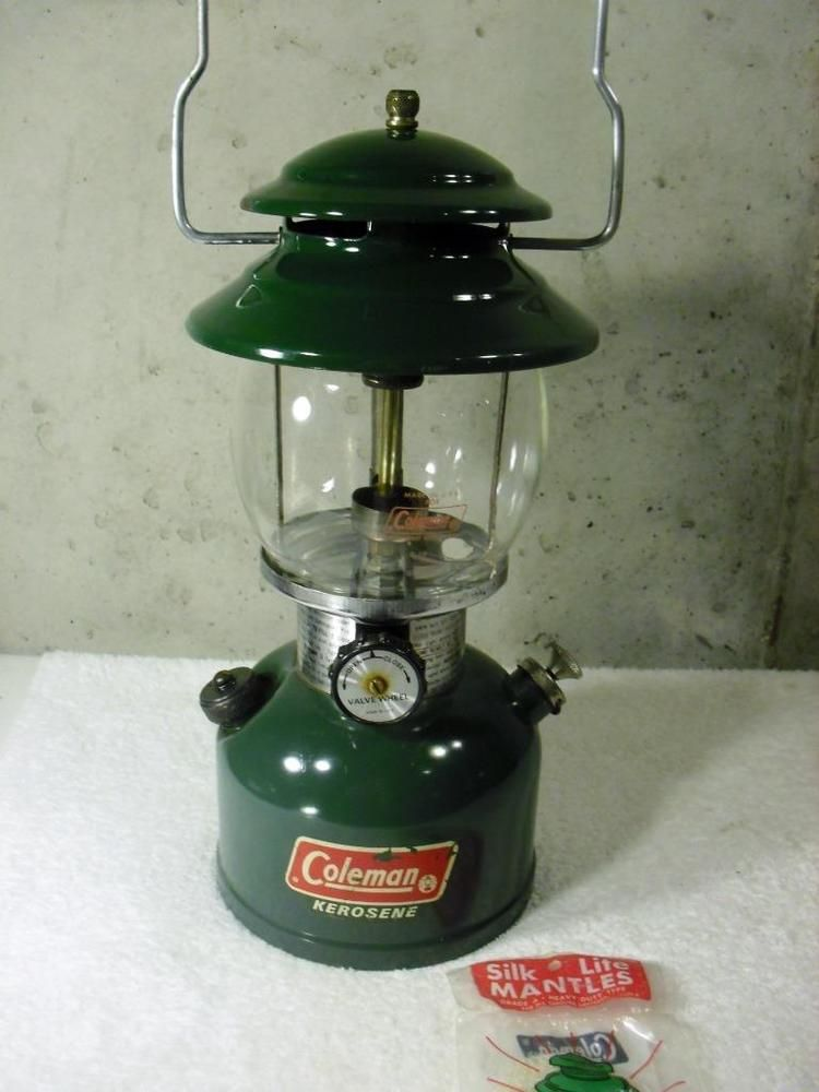 Details about Vintage Coleman Green 201 Kerosene Single