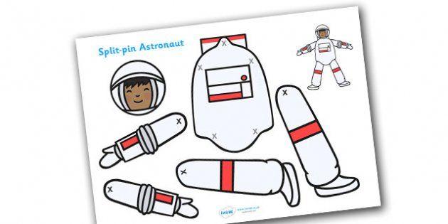 Split Pin Astronaut. Free.