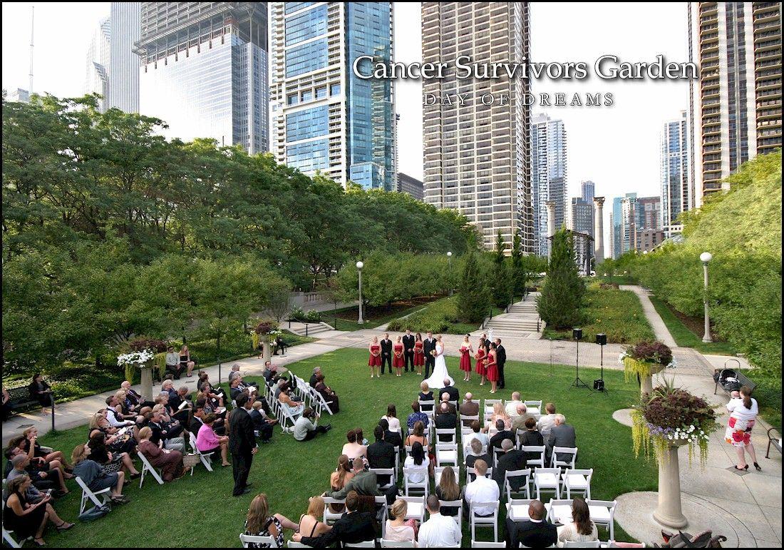 Beautiful Outdoor Wedding Venue Chicago Cancer Survivor S Garden