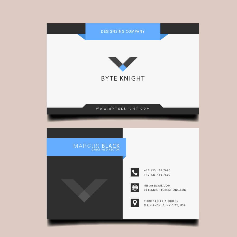 Professional Business Card Vc109 With Images Best Visiting